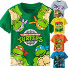 Kid Baby Boy Girls Summer T-shirt Teenage Mutant Ninja Turtles T-Shirt Tops Tees