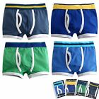 "Vaenait Baby Kids  Boxer Short Underwear Boys 4 Pantie Set ""Style Band"" 2T-7T"