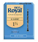 Rico Royal Bb Clarinet Reeds 10 BOX 1.5 2 2.5 3 Free Delivery