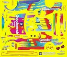#3 Dale Earnhardt Peter Max Monte Carlo 1/64th HO Scale Slot Car Decals