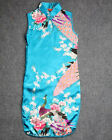 Chinese Kid Child Girls' Dress Cheongsam Blue Size 2 4 6 8 10 12