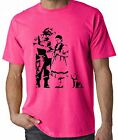 BANKSY STOP & SEARCH NEON T-SHIRT - Wizard Of Oz Dorothy - Choice Of Colours