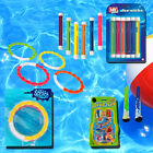 Swimming Pool Underwater Toys Dive Balls Rings Weighted Sticks Swim Water Games