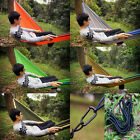 Portable Outdoor Double Person Parachute Nylon Fabric Hammock For Travel Camping