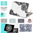 "Mandala Lace Painting Hard Case CUT-OUT For Macbook Pro 13""15 Air 11""13 Retina"