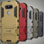 For LG G5 Case Soft Hard Kickstand Dual Layer Slim Protective Hybrid Phone Cover