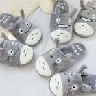 funny expression Totoro plush household slipper couple slippers lover gift 1pair