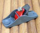 "Vintage Stanley 3½"" Block Or Thumb Plane With Coffin Shaped Bed & Smooth Bottom"