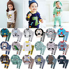 """50Styles"" Vaenait Baby Infant Toddler Boys Clothes Sleepwear Pajama Set 2T-7T"