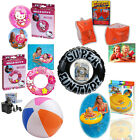Swimming Armbands Kids Inflatable Blow Up Beach Ball Tube Rings Floats Swim Aid