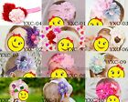 Cute Newborn Baby Girl Hair Band Infant Lace Flower Headband Headwear Soft