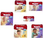 HUGGIES Nappies Little Snugglers/Movers Plus Size 1 2 3 4 5 6 New & Boxed