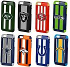 iPhone 6s 6 Official Licensed NFL Football 3D Team Logo Dual Layer Hybrid Case $16.99 USD on eBay