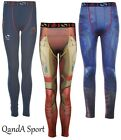 Ironman Captain America Avengers Kids Compression Base Layer Skins Long Tights