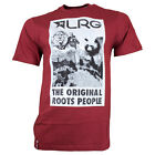 LRG Core Monument T-Shirt / maroon