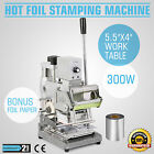 HOT FOIL STAMPING MACHINE FREE FOIL PAPER CRAFT BOX GILDING FOR ID PVC CARDS