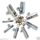 20 Eyelets w/Hole Punch Tool Kit Washer F Leather Craft Clothing Grommet Banner