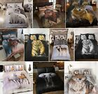 Zoo Wild Animals Photographic Duvet Cover Quilt Bedding Set