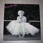 MARILYN MONROE GLITTER  SKIRT CANVAS PERSONALISED PRINT wall art. Free Delivery.