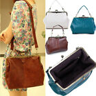 Retro Vintage Lady Womens PU leather Shoulder Purse Handbag Totes Bag Satchel