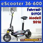 Original Freakyscooter Elektro-Scooter Modell 36-600 2016 eScooter ebike scooter