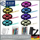 1m-30m SMD5050 30/60 LED KIT BANDE RUBAN STRIP RGB COULEUR FLEXIBLE TELECOMMANDE