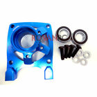 Rovan LT-SLT Blue CNC Aluminum High Flow Clutch Bell Brace Fit LOSI 5IVE T KM X2