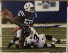 Jerrell Freeman Signed Indianapolis Colts 8 X 10 Photo Autographed