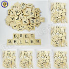 WHOLESALE WOODEN SCRABBLE TILES WOOD BLACK LETTERS BOARD CRAFTS BULK BUY CHEAP