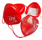 2x CPR Face Masks - Resuscitation Face Shield - First Aid Kit ***Fast Postage***