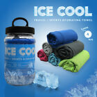 Ice Cool Heat Relief Travel/ Sports Hydrating Towel Reusable Various Colours