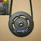 Universal 95mm Plastic Bearing Pulley Wheel Cable Gym Fitness Equipment Parts
