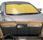 GOLD Sun Shade for windshield - CUSTOM Precision Cut - Nissan/Datsun