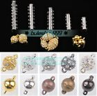 5pcs Magnetic Clasps Hooks For Jewelry Making Gold/Silver/Platinum 6mm/8mm/10mm