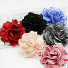 2pcs Designer Luxury Elegant Pastel Women Camellia Flower Pin brooch