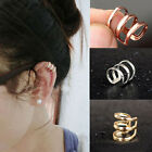 Unisex Fashion Jewelry Punk Rock Ear Clip Cuff Wrap No piercing-Clip On Earrings