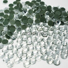 1000 Clear Hotfix Rhinestones Crystal Glass Diamond Iron On Beads Fabric Bling