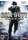 Call of Duty: World at War (Nintendo Wii) - Complete.