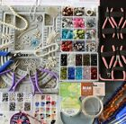 ULTIMATE JEWELLERY MAKING KIT * SWAROVSKI-BEADS-TOOLS-INSTRUCTIONS *EVERYTHING