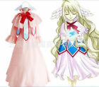 Hot Sell! Fairy Tail Mavis Vermilion Luxury Long Dress Uniform Cosplay Costumes