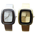 1pc Women's Square Stainless Steel Analog Quartz Watches Wrist Watch Hot Fashion