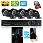 8CH CCTV 1080N DVR 2000TVL IR Video Cameras Home Security System with 1TB Hard