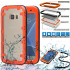 Swimming Waterproof Shockproof Phone Clear Case Hard Cover For Samsung Galaxy S7