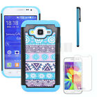 Shockproof Armor Rubber Protective Rugged Hybrid Impact Hard Case Phone Cover