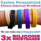 Love - Custom Personalized Rubber Silicone Wristband Bracelets Wholesale Bands
