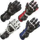 Spada Curve Mens Carbon Knuckle Protection Motorbike Motorcycle Racing Gloves