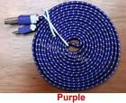 Micro USB Sync Data Charge Braided Flat Cable 6FT 2M for Samsung Galaxy S3 i9300