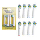 SALE Electric Tooth brush Heads for Braun Oral-B 3D WHITE PRO BRIGHT 18A-5X new+