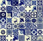 BLUE & WHITE Mexican Tile Hand...