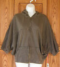 Billabong Short Sleeve Slouch Zip Gray Hoody Pacsun Box38
